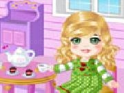 Play Doll house tea party now