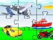 Play Jigsaw vehicles now