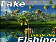 Play Lake fishing: jungle day now