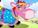 Play Farm cow dress up now
