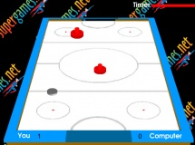 Play Super air hockey now