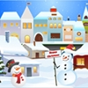 Jugar Christmas snow city decor