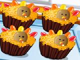Play Thanksgiving cupcakes now