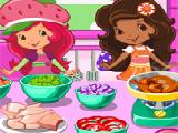 Play Strawberry shortcake cooking soup now