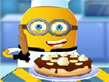 Play Minion cooking banana cake now