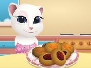 Play Baby Angela cooking butter cookies now