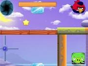 Play Angry Birds Catch Bag Pig now
