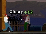 Play Zombie Baseball now