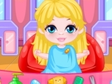 Play Baby Barbie Hairdresser now