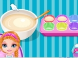 Play Baby Barbie little pony cupcakes now