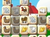 Play Farm Mahjong now
