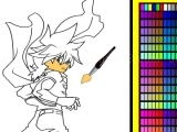 Play Beyblade online coloring now