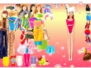 Play Mimi Barbie dress up now