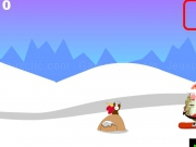Play Santa snowboard now