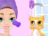 Play Crazy Cat Lady Makeover now