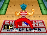 Play Neo geo league bowling now