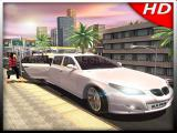 Jugar Luxury limousine car taxi driver: city limo games