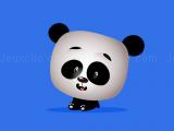 Play Cute panda memory challenge now